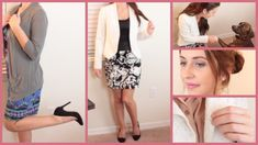Job Interview Outfits for Teens for my PHS project Business Casual Outfits For Women, Casual Summer Outfits, Outfits For Teens, Interview Style, Interview Outfits, Jobs For Teens, Crazy Outfits, Dress For Success, Dress Clothes