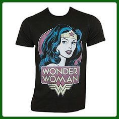 Wonder Woman Classic Pose Mens T-shirt (X-Large) - Superheroes shirts (*Amazon Partner-Link)