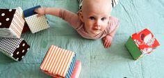 Bloques de tela para bebe