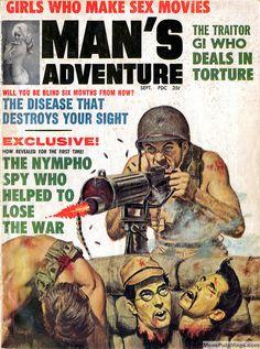 MAN'S ADVENTURE, September 1964 by SubtropicBob, via Flickr