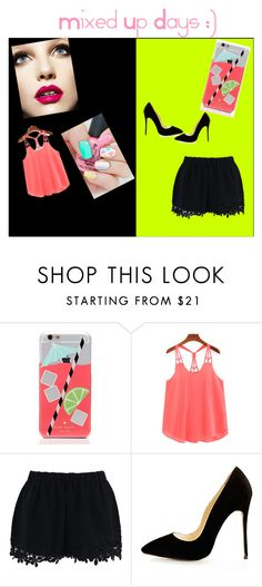 """Mixed Days"" by eboosie ❤ liked on Polyvore featuring beauty, Kate Spade and Chicwish"