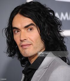 Russell Brand arrives at The Annual GRAMMY Awards at Staples Center on February 2011 in Los Angeles, California. Russell Brand, Staples Center, February 13, Awards, California