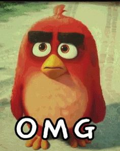 The perfect AngryBirds Omg OhMyGod Animated GIF for your conversation. Discover and Share the best GIFs on Tenor. Animated Emoticons, Funny Emoticons, Funny Emoji, Funny Cartoons, Animated Gif, Emoji Pictures, Funny Pictures, Vogel Gif, Cute Bunny Cartoon