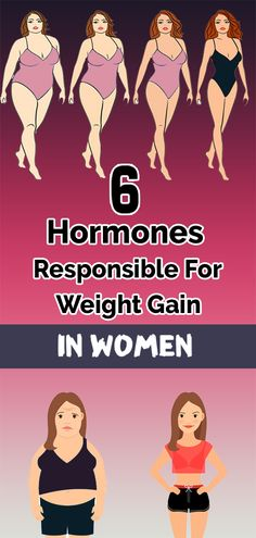 Here Are The 6 Hormones Responsible For Weight Gain In Women
