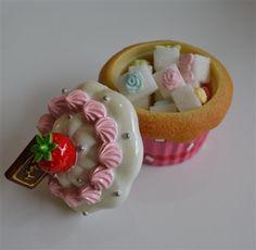 Mini Kutu, Cup Cake, Pembe | Neşeli Mutfak Ürünleri | Sonsuz Dekorasyon