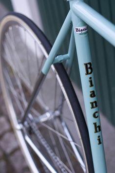 B I A N C H I  bike :)