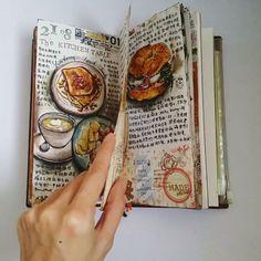 Flip flip flip ヽ(´▽`)/ #midoritravelersnotebook #Midori #mtn #travelersnotebook #plannergeek #planneraddict #planneraddictmalaysia #journaling #journals #artjournaling #手帐 #手帐生活 #旅人手帐
