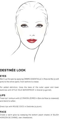 Destinée Look using Chanel's Spring 2012 Collection