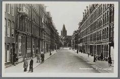 1950. View of the Blasiusstraat in Amsterdam-Oost. Photo Joods Historisch Museum / Joop van Velzen. #amsterdam #1950 #Blasiusstraat