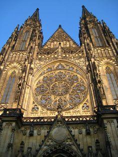 St Vitus Cathedral, Prague - Czech Republic