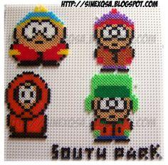Hama bead South Park by sinexqsa on deviantart
