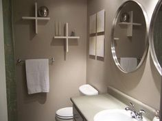 Gray Bathroom Idea With Modern Walk In Shower Design | For The Home |  Pinterest | Grey Bathrooms, Modern And Master Bathrooms