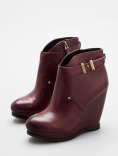 DALTON by Sam Edelman - burgundy booties