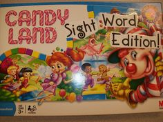 Candy Land: Sight Word Edition! Transform everyday board games into easy learning activities.