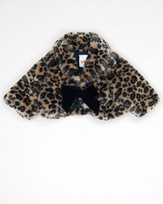 0-3 Months Girls Cropped Coat by Baby 8 - www.KidzOutfitters.com #kidsfashion #kidsclothes #girlscoat