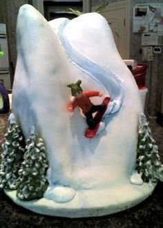 1000 Images About Snowboard Cakes On Pinterest