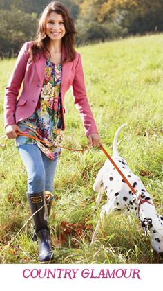 Country look from joules