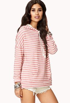 Nautical Striped Hoodie | FOREVER21
