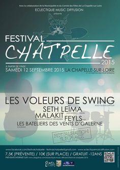 Festival CHAT'PELLE, La Chapelle-sur-Loire (37140), Centre-Val de Loire