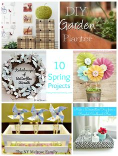 10 Spring Projects: Decor and Organization