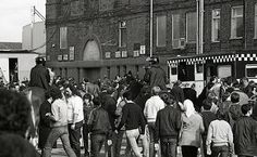 Outside the Ground - Manchester Derby 1981 | by Greater Manchester Police