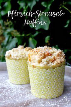 Schokokuss und Zuckerperle: Pfirsich-Streusel-Muffins + Gewinnerin