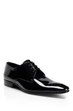 Patent Leather 'Cristallo' Dress Shoe, Black