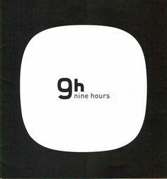 ナインアワーズnine hours京都店パンフレット Japan Logo, Sign Design, Editorial, Design Inspiration, House, Home, Homes, Houses