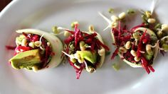 Sprouted Superfood Sushi Recipe - ladylovefood.com