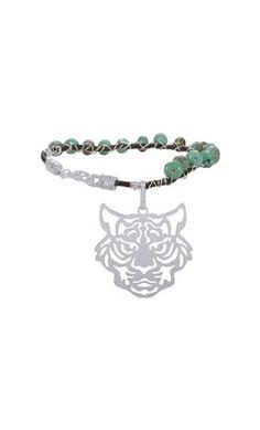 Bracelet pierre de Chrysoprase.Nouch