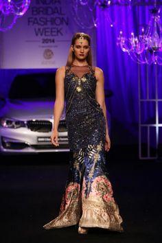 Falguni & Shane Peacock. IBFW 14'. Indian Couture.