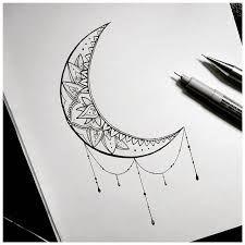 Resultado de imagen para media lunas mandalas