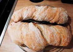 Ciabatta, Ring Cake, Canapes, Scones, Italian Recipes, Healthy Life, Bakery, Pork, Food And Drink