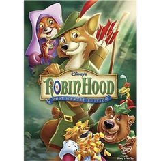 Robin Hood, DVD. (The bluray version hasn't been released from the vault yet... I want the bluray!)