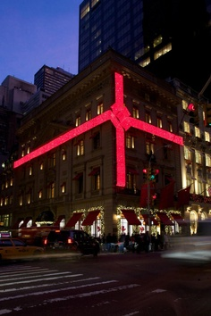 Holidays at Cartier Mansion on 5th Avenue, NYC