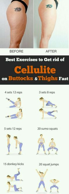 How to get rid of cellulite on buttocks and thighs fast? 6 Exercise, 14 day challenge Cellulite workout at home. workout routine to get rid of cellulite and get firm legs, and smooth thighs. Best exercise to get rid cellulite on butt and thigh. Dieta Fitness, Fitness Diet, Yoga Fitness, Fitness Motivation, Health Fitness, Exercise Motivation, Fitness Workouts, Sport Fitness, At Home Workouts