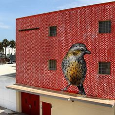Such amazing detail in this piece by @pablo_pelluz from @bloopfestival 2016, #Ibiza #globalstreetart #streetart #mural #art https://www.instagram.com/p/BYIZeLcl5BE/