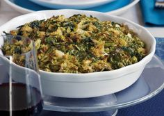 Technically, quinoa is not a grain (it's related to spinach and chard), so it's perfect for Passover. Here, spring greens are wilted then mixed with quinoa and cheese for a golden-crusted savory pie.