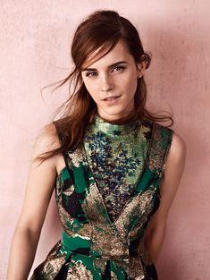 Emma Watson by Josh Olins for Vogue UK September 2015