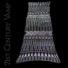 1920s Assuit Shawl. Flapper. Art Deco. Egyptian by 21stCenturyVamp