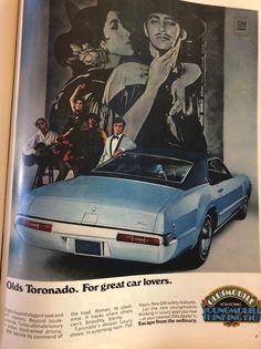 Magazine Ads, Life Magazine, Oldsmobile Toronado, Education Information, Car Advertising, Vintage Ads, Automobile, 1960s, Truck