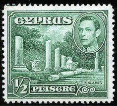King George VI Cyprus 1938