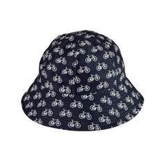 Women's San Diego Hat Company Water Repellant Bucket Hat CTH8055 (851.200 VND) ❤ liked on Polyvore featuring accessories, hats, polyester hat, fisherman hat, black and white hat, white and black hat and bucket hat
