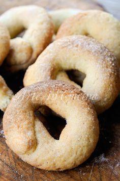 Ciambelline alla messinese ricetta biscotti vickyart arte in cucina