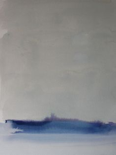 "Koen Lybaert; Watercolor, 2013, Painting ""Tasiilaq I"""