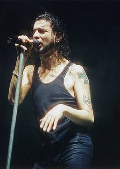 Dave Gahan - Photo by Peter Still