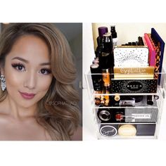 Beautiful women everywhere trust the our Beauty Cases to organize their lives. SophiaThao the Mommaprenuer of Superficial by Sophia is one of them. Diy Vanity Table, Beauty Case, Luxury Beauty, Makeup Organization, Makeup Brushes, Makeup Looks, Beautiful Women, Trust, Celebrities