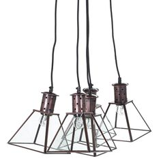 Modern and geometric,the Matrix Cluster Pendant is a great way to add an urban edge to your living space. From a dark copper-tone ceiling rose, four 170cm long