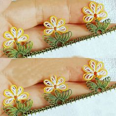 Word Ring Needle Pattern Model - Funny World Thread Art, Needle And Thread, Crochet Unique, Needle Lace, Knitted Shawls, Baby Knitting Patterns, Knitting Socks, Hand Embroidery, Tatting
