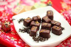 東方美人茶と金木犀のボンボン・ショコラ♡|レシピブログ
